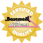 Certified Basement Systems Dealer