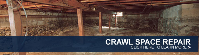We Are Houston Crawl Space Repair Experts!